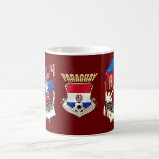 Paraguay Grunge Futbol Guaraníes La Albirroja Mugs