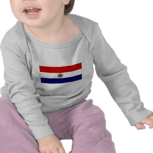 Paraguay Jack naval Camisetas