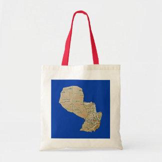 Paraguay Map Bag