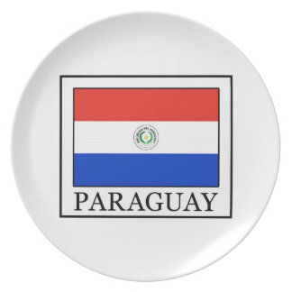Paraguay Melamine Plate