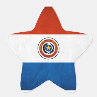 Paraguay National Flag Sticker