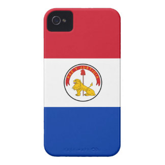 Paraguay Paraguayan Flag Reverse Case-Mate iPhone 4 Cases