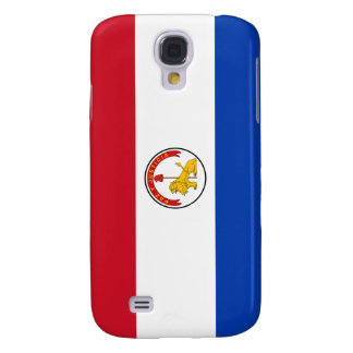 Paraguay Paraguayan Flag Reverse Samsung Galaxy S4 Cases