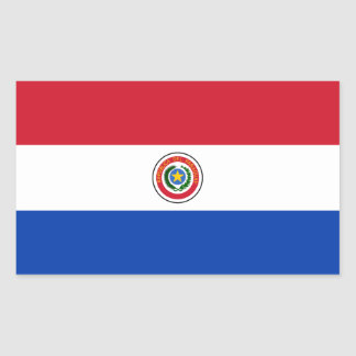 Paraguay/Paraguayan Flag Stickers