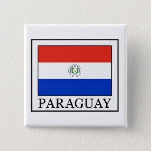 Paraguay Pinback Button