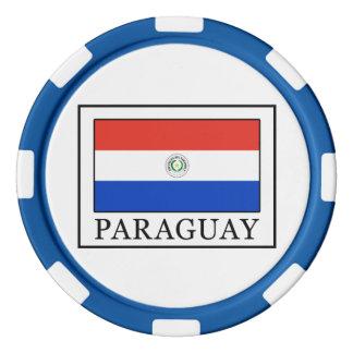Paraguay Poker Chip Set