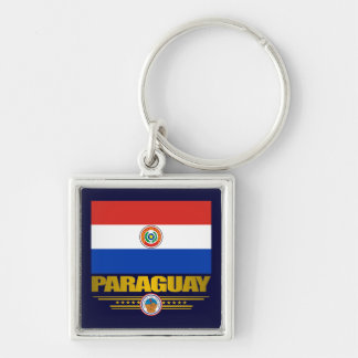"""""""Paraguay Pride"""" Keychain"""
