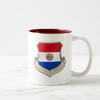 Paraguay shield emblem badge for Guaraníes Coffee Mugs