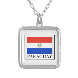 Paraguay Silver Plated Necklace
