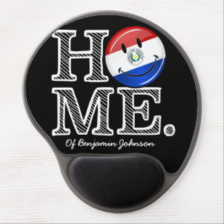 Paraguay Smiling Flag House Warmer Gel Mouse Pad