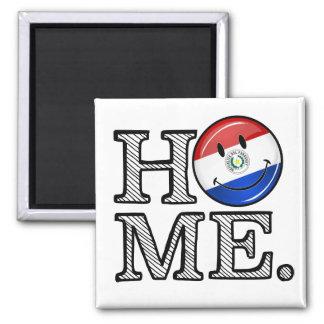 Paraguay Smiling Flag House Warmer Magnet