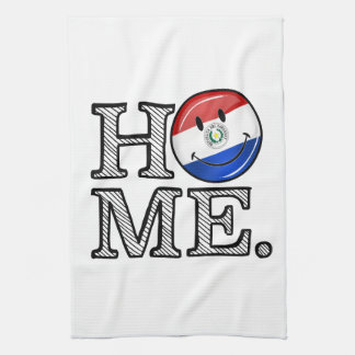 Paraguay Smiling Flag House Warmer Towel