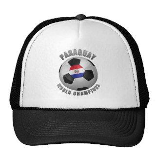 PARAGUAY SOCCER CHAMPIONS MESH HAT