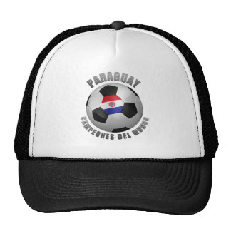 PARAGUAY SOCCER CHAMPIONS MESH HATS