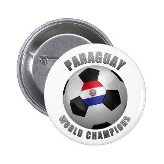 PARAGUAY SOCCER CHAMPIONS PIN