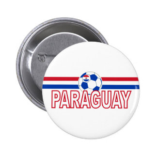 Paraguay soccer Football 2010  Button Badge