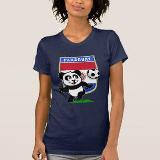 Paraguay Soccer Panda T-Shirt