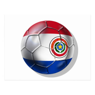 Paraguay Soccer Postcard