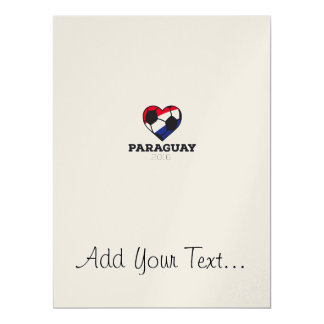 Paraguay Soccer Shirt 2016 Card