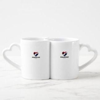 Paraguay Soccer Shirt 2016 Couples Coffee Mug