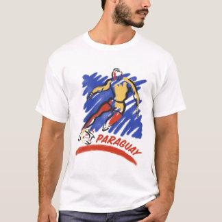 Paraguay Soccer Swoosh T-Shirts
