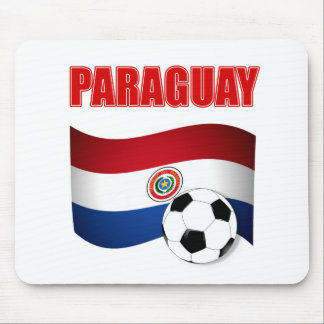 Paraguay Soccer T-Shirts Mouse Pad