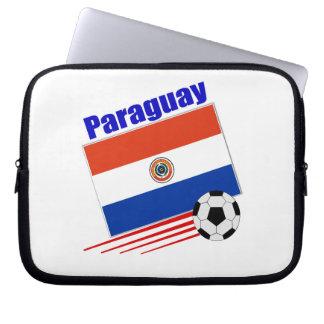 Paraguay Soccer Team Laptop Computer Sleeve