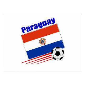 Paraguay Soccer Team Postcard