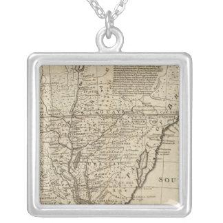 Paraguay Square Pendant Necklace