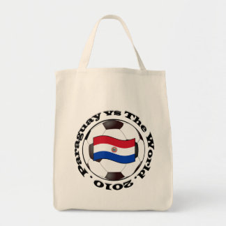 Paraguay vs The World Tote Bags