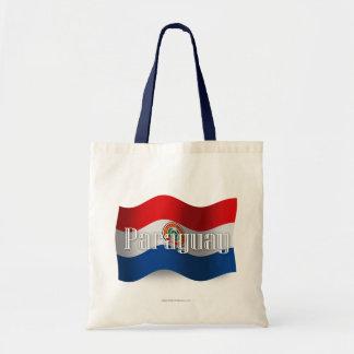 Paraguay Waving Flag Bag