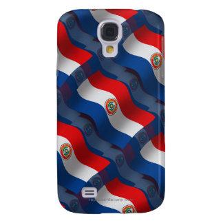Paraguay Waving Flag Samsung Galaxy S4 Case