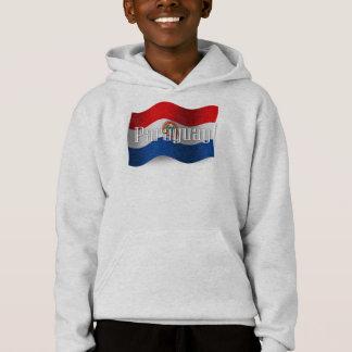 Paraguay Waving Flag Hoodie
