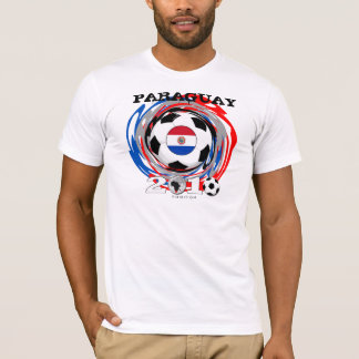 Paraguay World Cup T-Shirt Twirl
