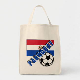 PARAGUAY World Soccer Fan Tshirts Tote Bag