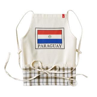 Paraguay Zazzle HEART Apron