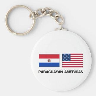 Paraguayan American Keychain