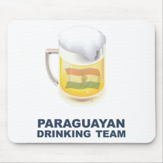 Paraguayan Drinking Team Mouse Pad