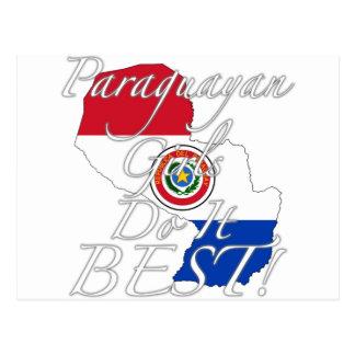 Paraguayan Girls Do It Best! Postcard