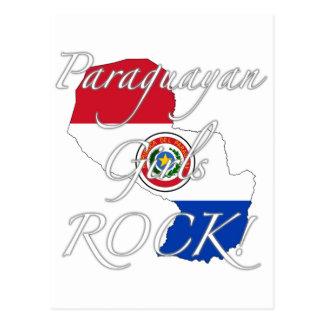 Paraguayan Girls Rock! Postcard