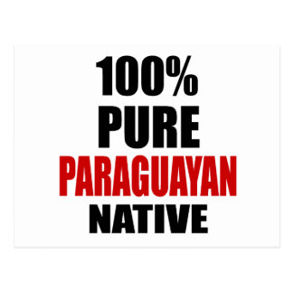 PARAGUAYAN NATIVE POSTCARD
