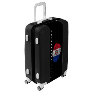 Paraguayan touch fingerprint flag luggage