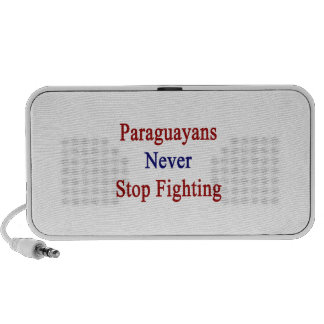 Paraguayans Never Stop Fighting Mini Speakers