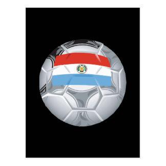 Paraguayian Soccer Ball Postcard