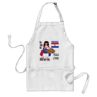 Paraguay's Cuisine Aprons-Chicken Chupin Adult Apron
