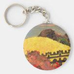 'Parahi Te Marae' - Paul Gauguin Key Chains