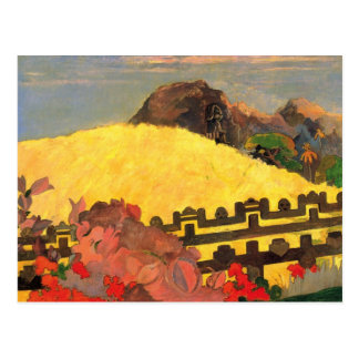 'Parahi Te Marae' - Paul Gauguin Postcard