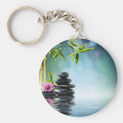 paraíso aka Bali del zen el verano pasado 2012 II Llavero Personalizado
