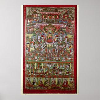 Paraíso de Amitabha Póster