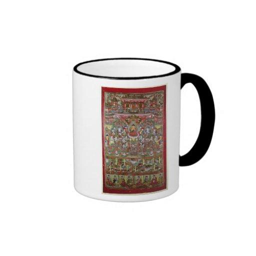 Paraíso de Amitabha Tazas De Café